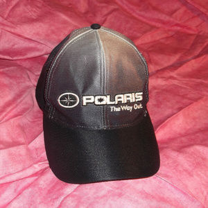 Men's OSFA Polaris velcro-back Logo Hat